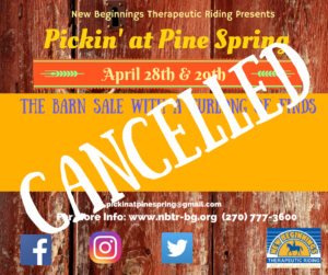 Pickin at Pine Spring CANCELLED